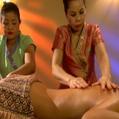 Арома - массаж