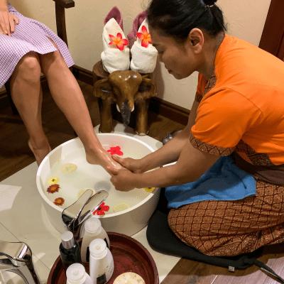 Orient Spa Одесса - Расслабляющий массаж ног